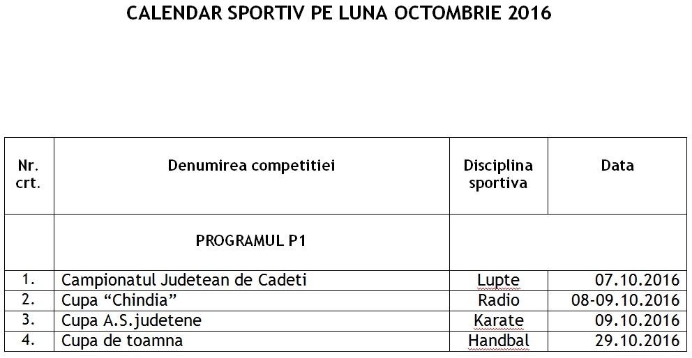 calendar-sportiv-octombrie-2016