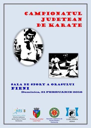 CJ Karate 2016 – Afis